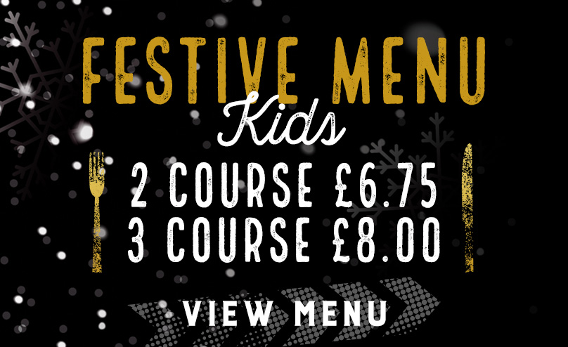 Kids Festive Menu at The Court